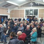 Residents at public meeting in Parish Hall