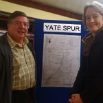 Councillors Paul Hulbert and Claire Young