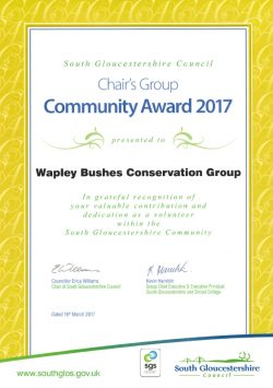 South Glos Community Award 2017