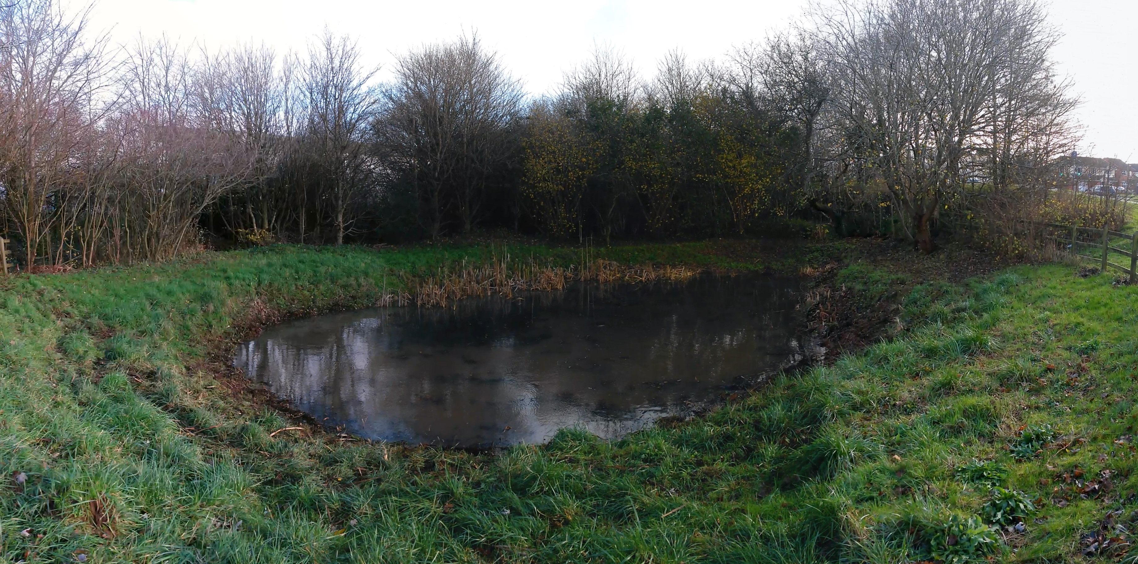 Kennedy Way Pond opposite Yate Shopping Centre